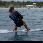 PKRA Mini Kiteboard World Tour 2012. Con una gran fiesta inagural dio comienzo la competicion