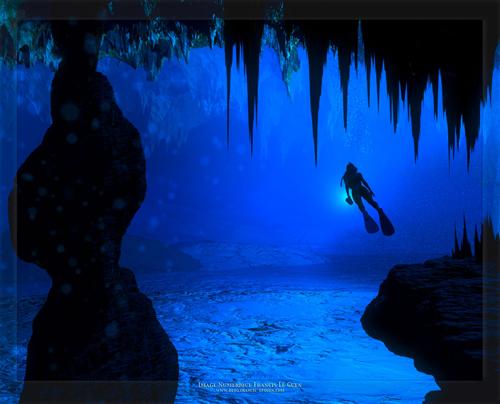 Descubierto lo que hay en el fondo del misterioso agujero azul de Australia Bluehole2
