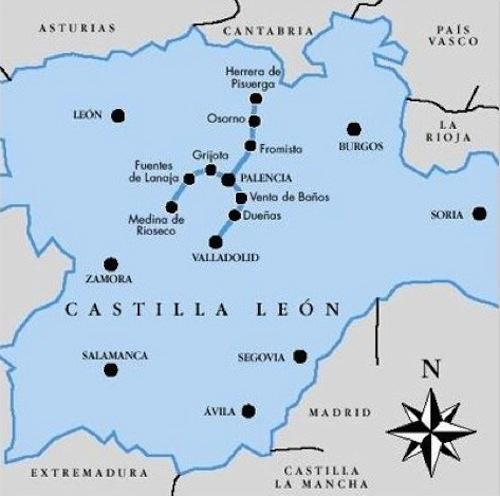 Rutas de turismo fluvial el canal de castilla por for Oficina de turismo de palencia