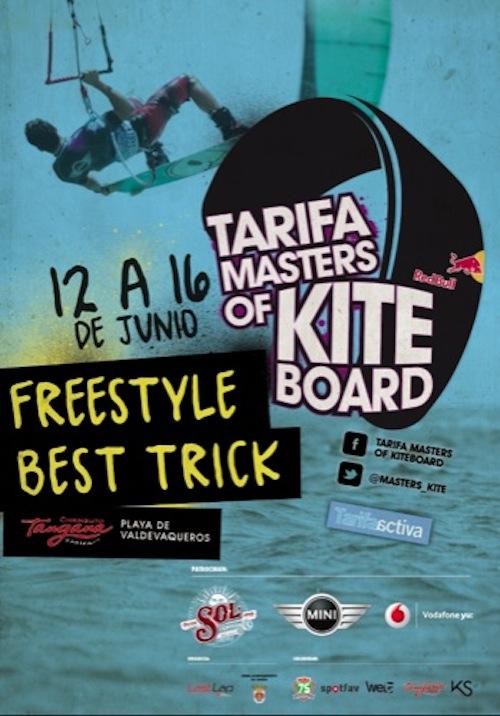 Cartel Tarifa Masters of Kiteboard 2013