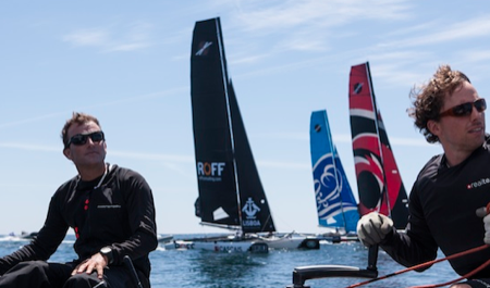 Extreme Sailing Series Oporto 2013