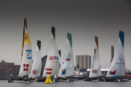 The Extreme Sailing Series 2013, Act 7, Cardiff, WalesCredit: Lloyd Images