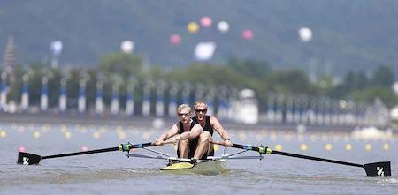 New Zealand's men's pair
