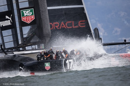 08/09/2013 - San Francisco (USA,CA) - 34th America's Cup - ORACLE Team USA