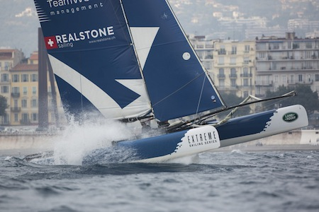 The Extreme Sailing Series 2013. Act7. Nice. FranceCredit: Lloyd Images