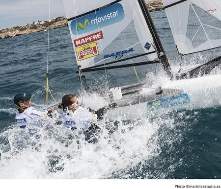 Eurosaf Sailing Cup La Rochelle Iker y Tara