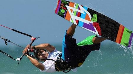 récord Guinness de kitesurf