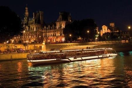 Boda en barco en Paris