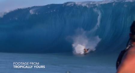 tortazos en el surf