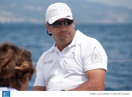 José María van der Ploeg, uno de los favoritos en el Europeo de J80 de vela