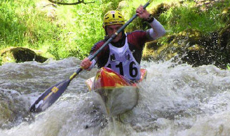 ICF Wildwater Canooing, Valletina
