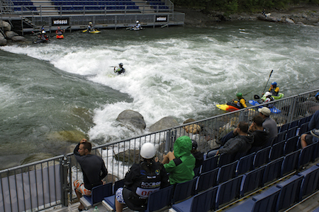 Copa del Mundo de kayac de freestyle