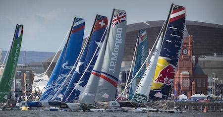 Extreme Sailing Series en Cardiff Bay