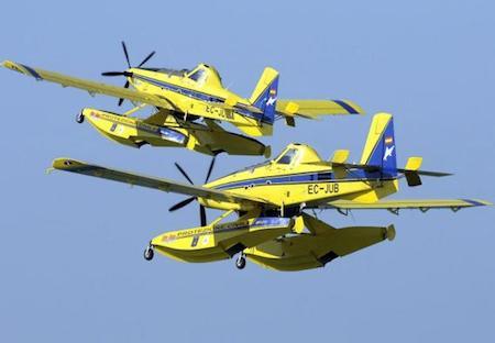 Hidroaviones AT-802 Air Tractor