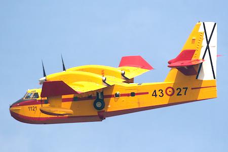 Hidroaviones Canadair CL-215 T 43 27