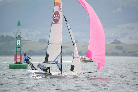 Santander 2014 ISAF Sailing World Championships FX