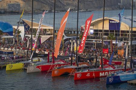 Alicante Barcos pantalán