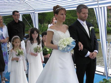 bodas en barco en el Delata del Ebro 1