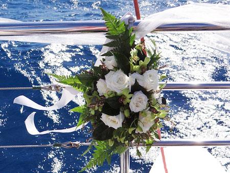 bodas en barco en el Delta del Ebro 2