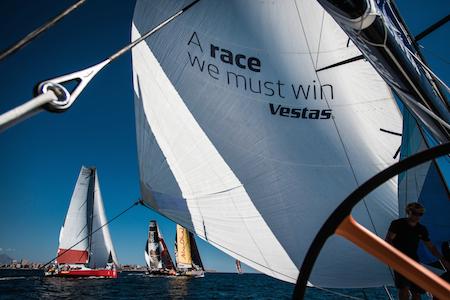 September, 2014. Leg 0 onboard Team Vestas Wind.