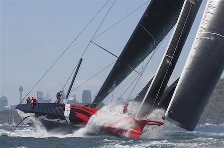 Salida de la 70ª Rolex Sydney Hobart 1