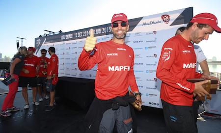 el equipo español de la Volvo Ocean Race ha conseguido la 4ª plaza