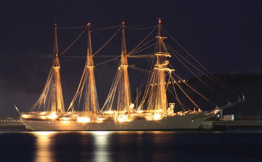 Iluminacion bodas en barco 3