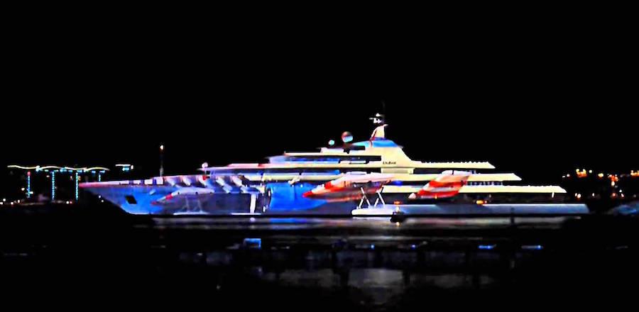 Iluminacion bodas en barco 4