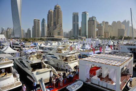 Salón Náutico Internacional de Dubai