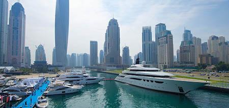 alón Náutico Internacional de Dubai