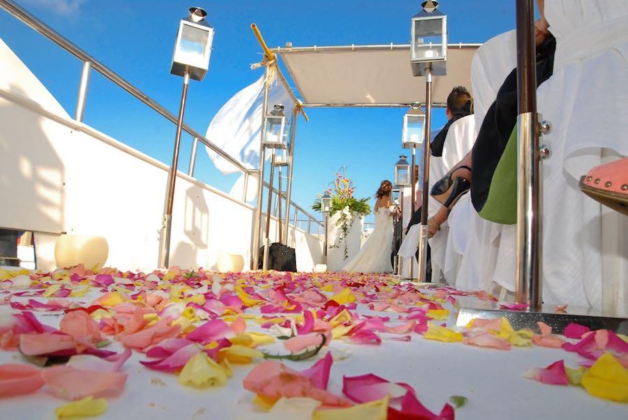Bodas en barco - ceremonia