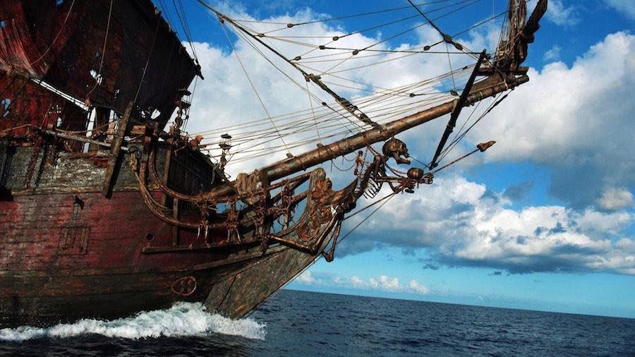 Piratas - barco