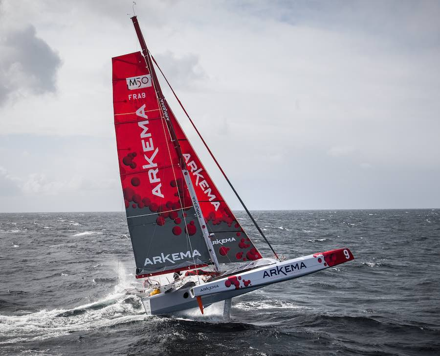 Multi50 ARKEMA - Skipper : Lalou Roucayrol - Team Arkema Lalou Multi - Mai 2015