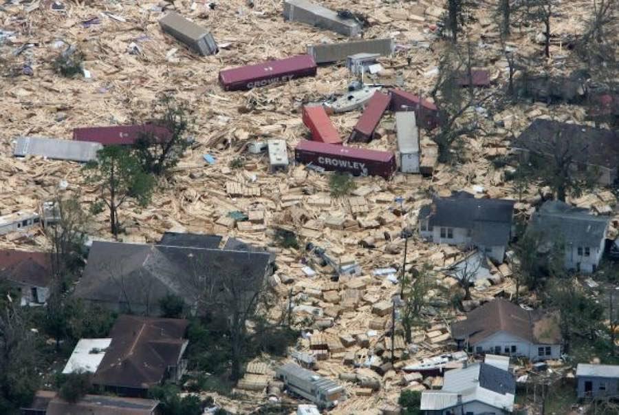 Ciclones y huracanes - Katrina