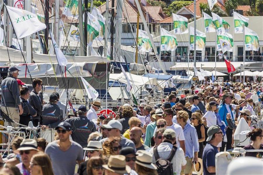 Rolex Sydney Hobart 2015 salida 1