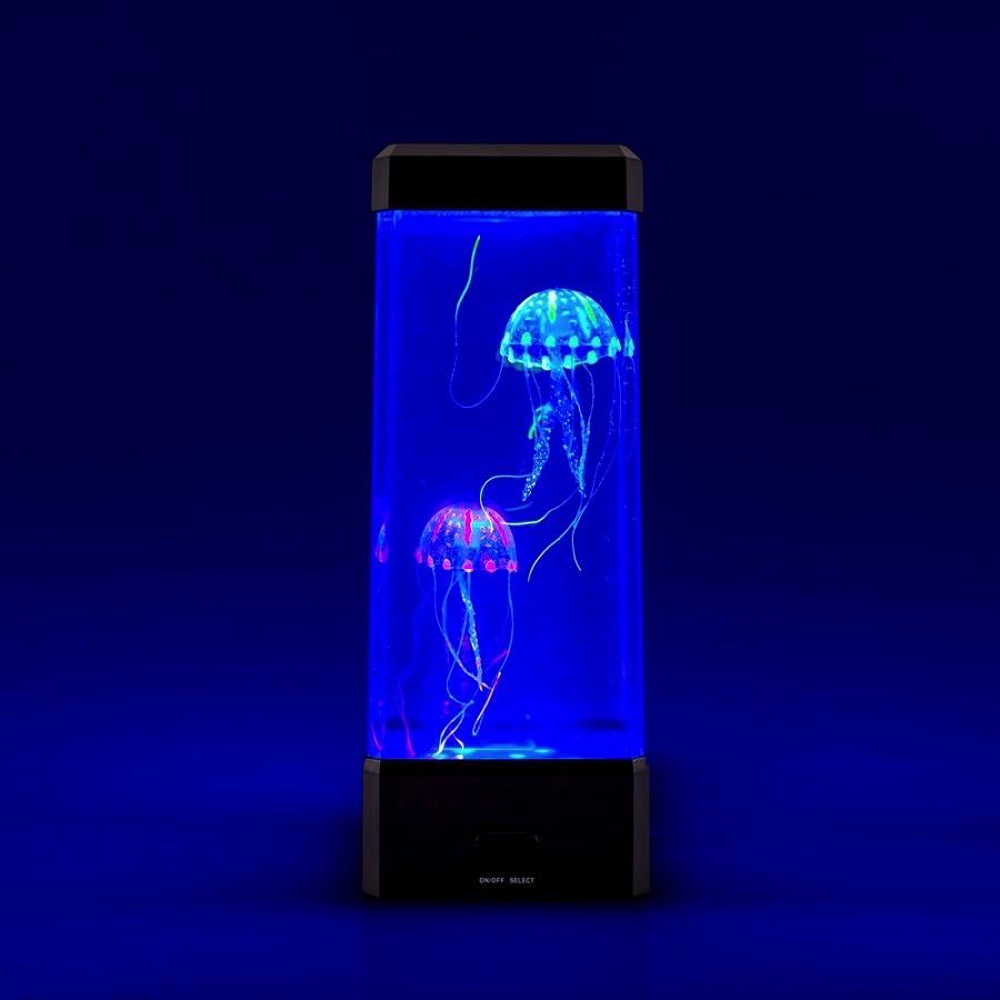 Regalos originales una l mpara pecera de medusas for Acuarios originales