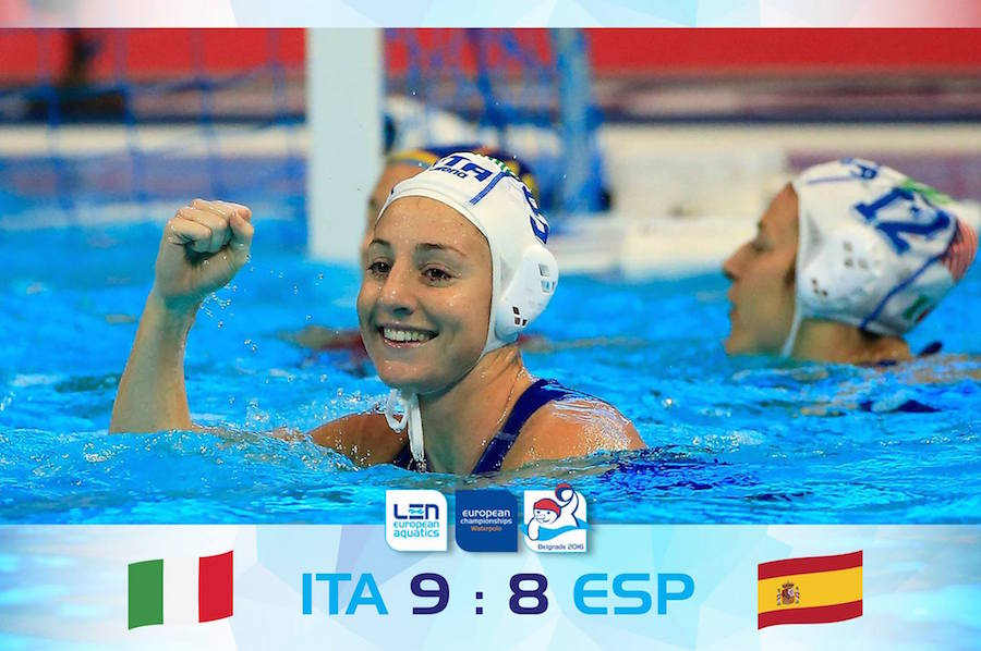 Europeo Waterpolo 2016 femenino 2