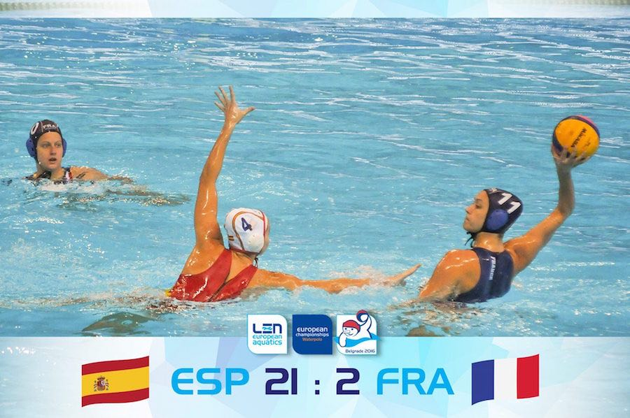Europeo de Waterpolo 2016 - España Francia