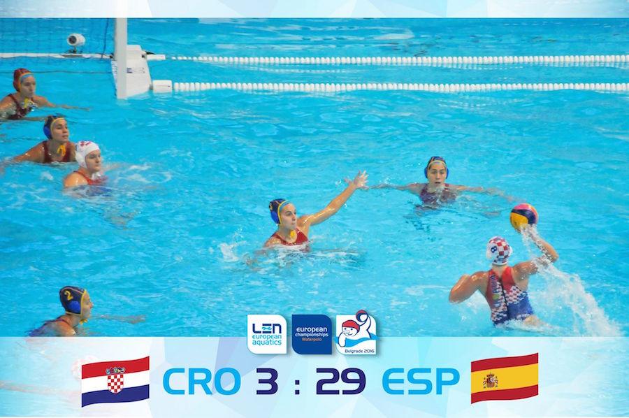 Europeo de Waterpolo 2016 - España femenino