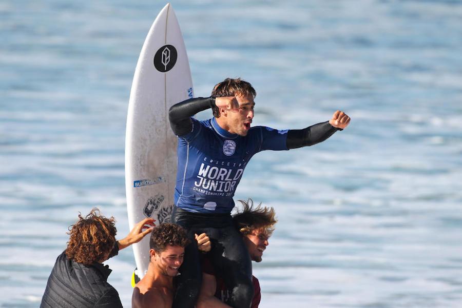 Mundial Junior de Surf 2016 - WSL : Laurent Masurel