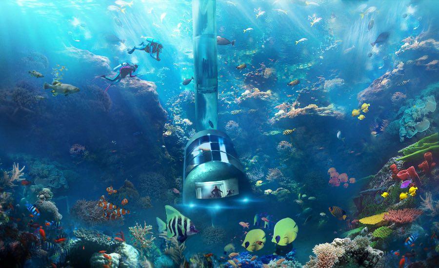Actualizacion los hoteles bajo el agua ya no son tanta for Hoteles bajo el agua espana
