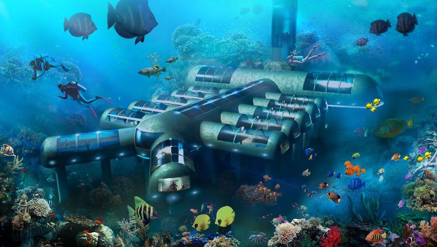 Actualizacion los hoteles bajo el agua ya no son tanta for Imagenes de hoteles bajo el agua