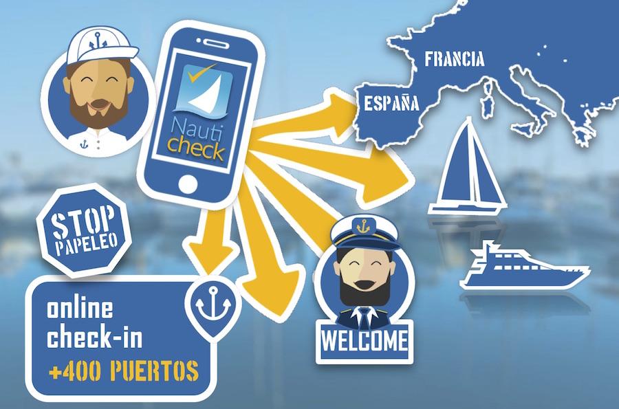 infografia multi port check Nautic Advisor