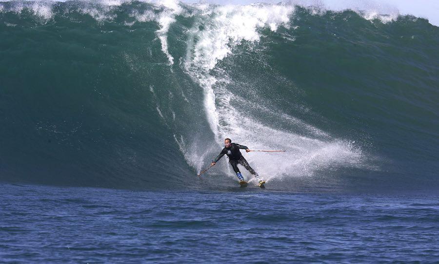 Esquiar olas 1