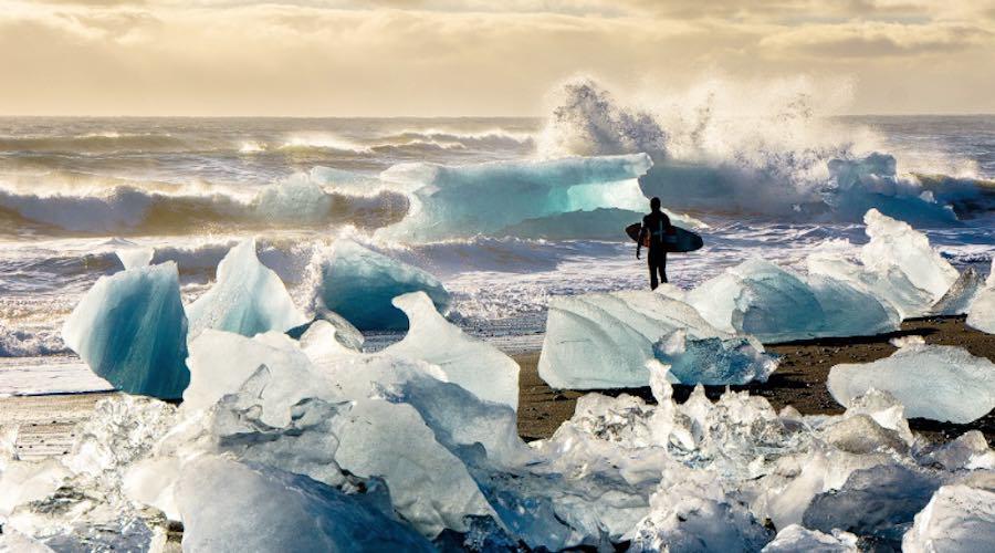 surf en el artico