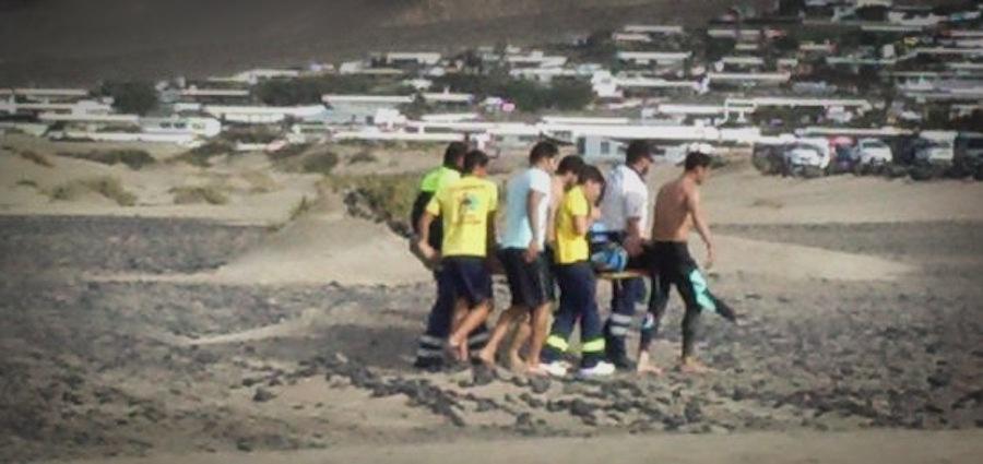 Kitesurfista muere en Lanzarote 1