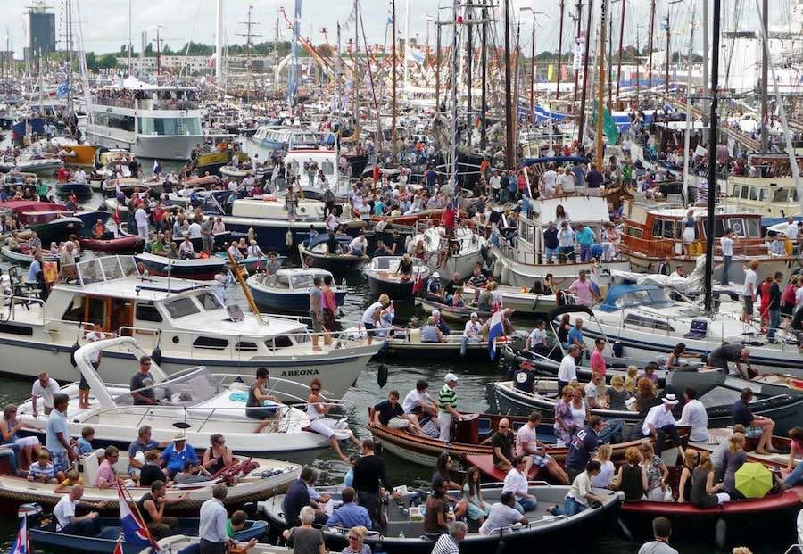 Sail Amsterdam - Trafico Maritimo 1