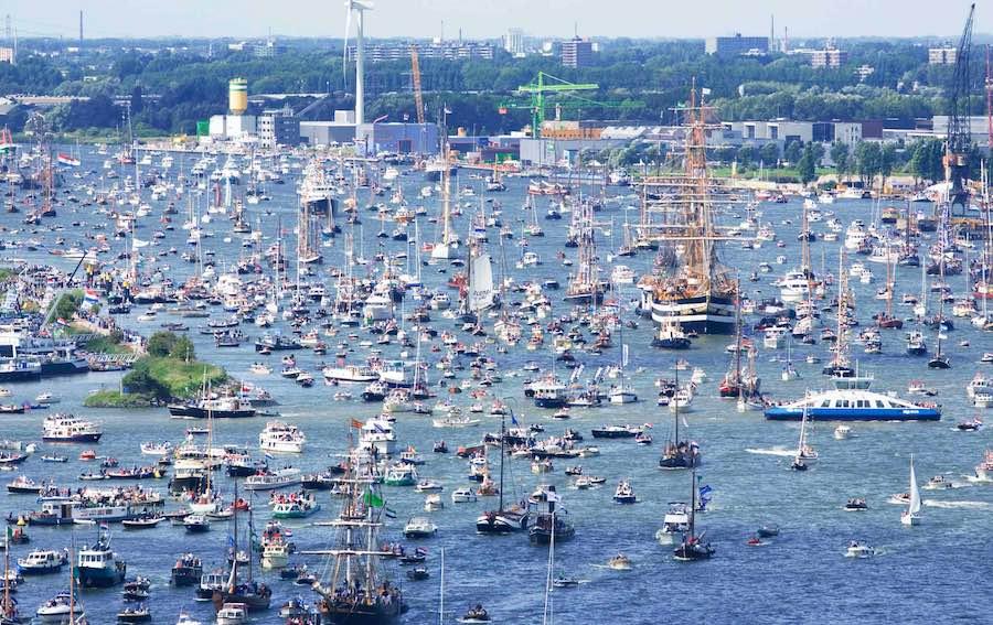 Sail Amsterdam - Trafico Maritimo 2