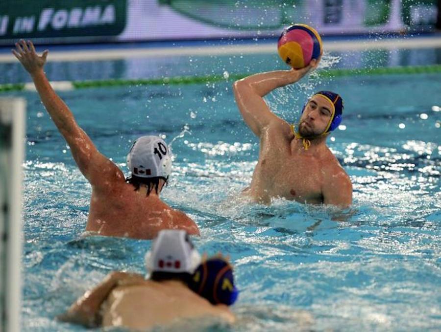 Waterpolo España-Francia 2