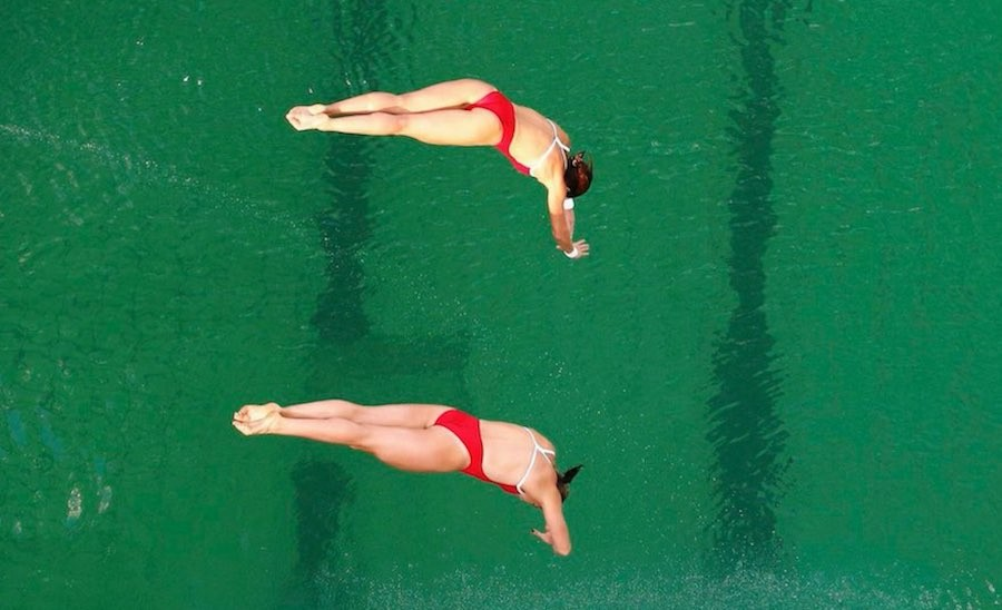 Río 2016 agua verde
